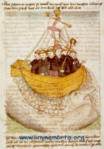Navigation of Saint Brendan (German manuscript)