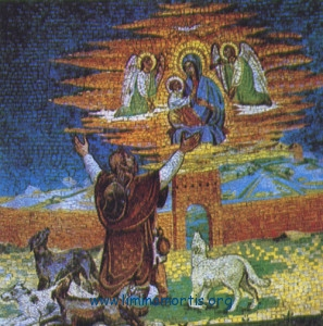 Divine Love - The pilgrim and the dogs
