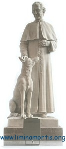 Statue of Don Bosco and the Gray